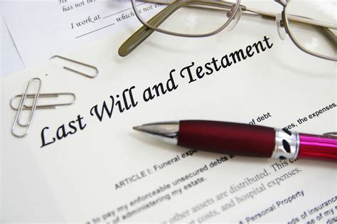 Don't delay in making a will